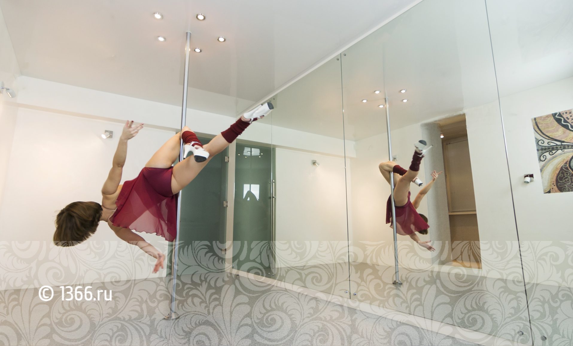 акробатические танцы на пилоне