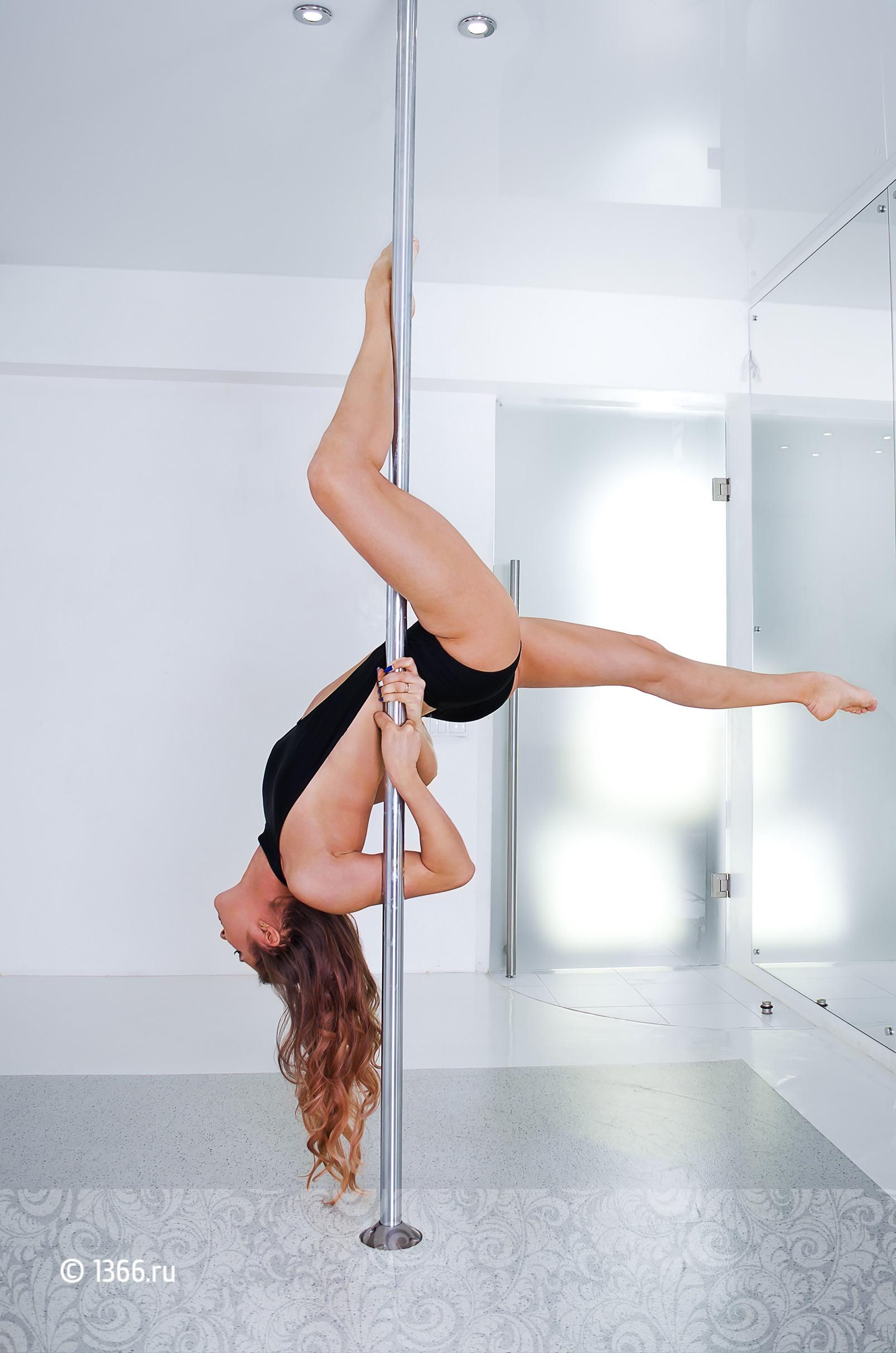 элементы pole dance